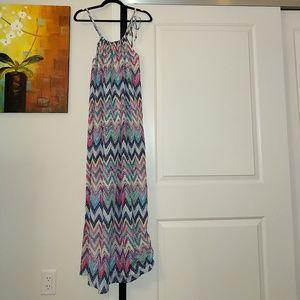 NWT Tobi Chevron Stripe Maxi Dress